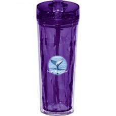 Hot & Cold Flip n Sip Geometric Tumbler 18oz