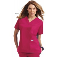 3 Pocket V-neck Scrub Top