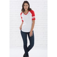 NEW! ATC™ EUROSPUN® RING SPUN BASEBALL LADIES' TEE
