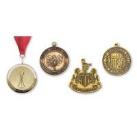 Brass Die Struck Medallions